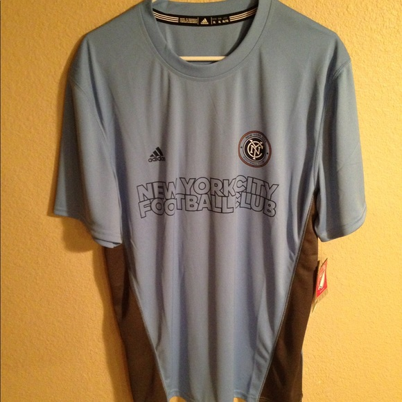 ba7bba0b998 NYCFC New York City Football Club Mens XL jersey. NWT. adidas
